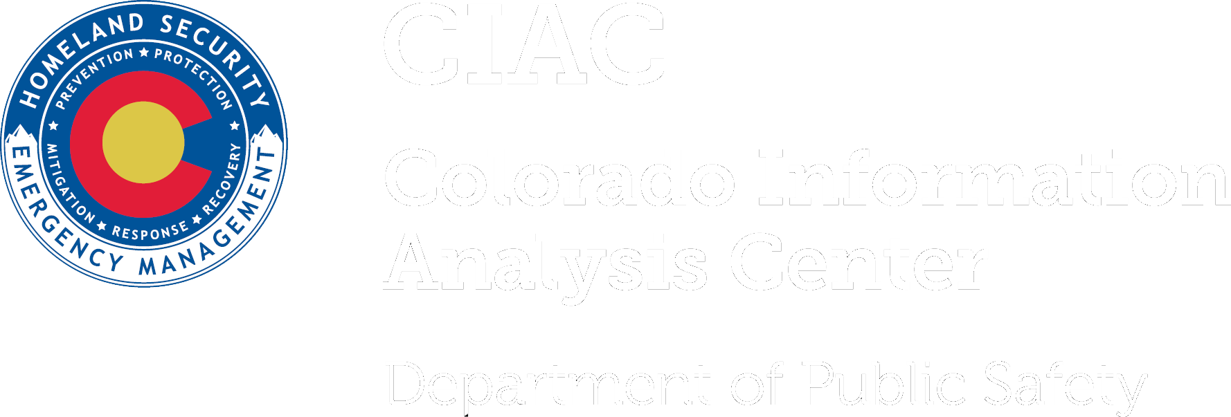 Colorado Information Analysis Center (CIAC) - Logo